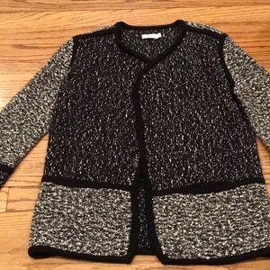 Vince knit sweater jacket